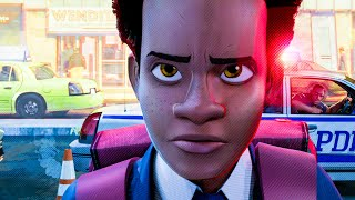 Download Full Dad I Love You Scene - SPIDER-MAN: INTO THE SPIDER-VERSE (2018) Movie Clip Video