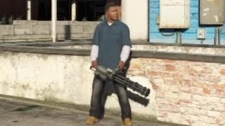 Download ★ GTA 5 - How To Get a Minigun! Video
