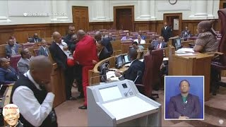 Download EFF Forcibly Removed From NCOP And Zuma Laughs Video