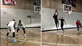 Download LeBron James, Kevin Durant, Carmelo Anthony ALL-STAR PICK UP GAME In NEW YORK CITY Video