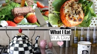 Download What I Eat In A Day 2016 Healthy Lunch & Dinner Ideas MissLizHeart Video