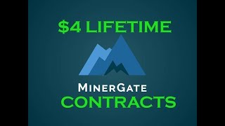 Download $4 Lifetime Bitcoin Cloud Mining Contracts at Minergate Video