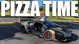 Download Delivering Pizza In A Lamborghini (WITH NO DOORS) Video