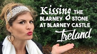 Download Kissing The Blarney Stone at Blarney Castle Ireland Video