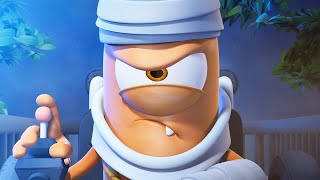 Download Funny Animated Cartoon | Spookiz Fly Me To The Moon 스푸키즈 | Cartoon for Children Video