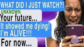 Download Watching A Video OF MY OWN DEATH!!! (Time Of Death | Cliffhanger | Texting Story) Video