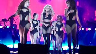 Download Britney Spears - I'm A Slave 4 U + Make Me + Freakshow + Do Somethin' (Live In Tel Aviv 2017) Video