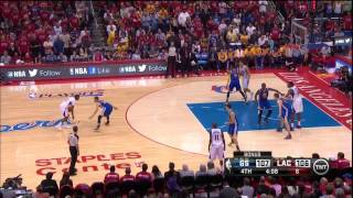 Download Draymond Green volleyball block in game 7 vs CP3 Clippers 5-3-14 Video