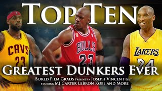 Download Top Ten Greatest Dunkers Ever Video