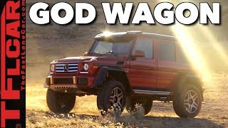 Download Here's Why the G550 4x4 Squared Is The Most Amazing Mercedes-Benz Of All! Video
