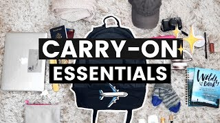 Download What's in my Travel Bag | Carry-On Essentials Video