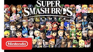 Download Super Smash Bros. Ultimate - Overview Trailer feat. The Announcer - Nintendo Switch Video