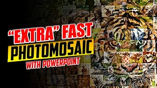 Download Fast Photo Mosaic Trick in PowerPoint Video