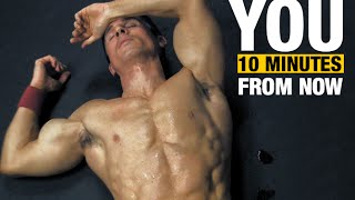 Download 10 Minute Home Fat Burning Workout (NO EQUIPMENT KILLER!!) Video
