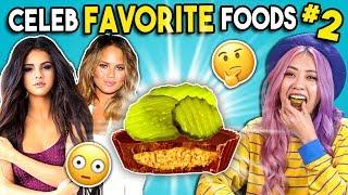 Download Trying Celebrity Favorite Foods | People Vs. Food Video