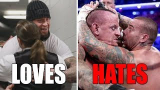 Download 6 WWE Wrestlers The Undertaker Is Friends With & 7 He HATES (Enemies) in Real Life Video