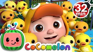 Download Ten Little Duckies (A Number Song) | +More Nursery Rhymes & Kids Songs - CoCoMelon Video