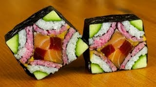 Download Mosaic Sushi Roll Evolution - Food Recipe Video
