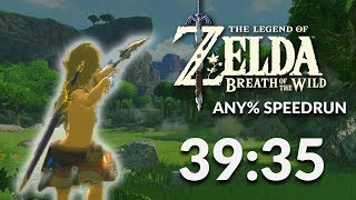 Download Breath of the Wild any% Speedrun in 39:35 by Orcastraw Video