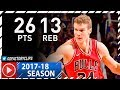 Download Lauri Markkanen Full Highlights vs Suns (2017.11.19) - 26 Pts, 13 Reb Video