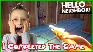 Download I Completed The Game / Hello Neighbor (Alpha 2) Video
