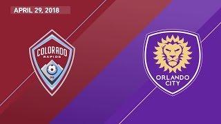 Download HIGHLIGHTS: Colorado Rapids vs. Orlando City SC | April 29, 2018 Video
