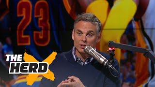 Download Colin Cowherd reacts to LeBron James and the Cavaliers sweeping the Pacers | THE HERD Video