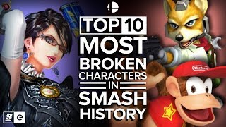 Download The Top 10 Most Broken Characters in Smash History Video
