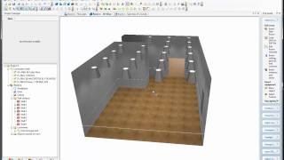 Download DiaLux CAD import & lux calculating Video