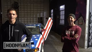 Download [HOONIGAN] DT 182: Adam LZ Versus TJ Hunt in our $350 BMW e36 Video