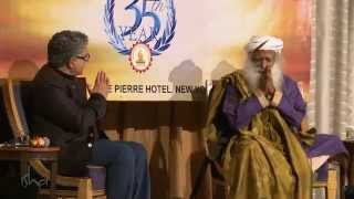 Download Ancient Wisdom in Modern Times - Deepak Chopra and Sadhguru, moderated by Ms. Chandrika Tandon Video