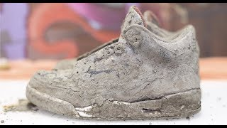 Download Cleaning The Dirtiest Jordan's Ever! $600 2001 Black Cement 3's Back To NEW! Video