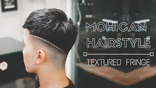 Download Textured Fringe Haircut I Skin Fade I Mohican Haircut I Kiểu tóc Mohican Video