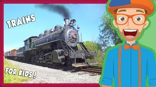 Download Trains for Kids by Blippi | Educational Videos for Toddlers and Children Video