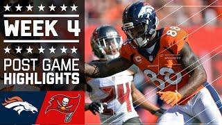 Download Broncos vs. Buccaneers   NFL Week 4 Game Highlights Video