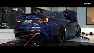 Download LOUD DYNO! JP's Lexus RCF V8 w/ ARMYTRIX Exhaust - SAVAGE SOUNDS! Video