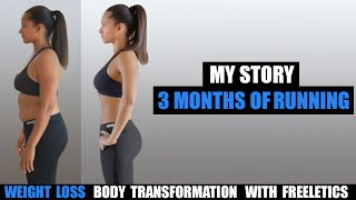 Download My 3 Month Bikini Body Weight Loss Transformation with Freeletics Running Video