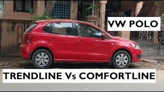 Download Volkswagen Polo Trendline Vs Polo Comfortline Video