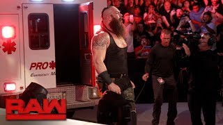 Download Braun Strowman puts Roman Reigns in an ambulance: Raw, June 26, 2017 Video