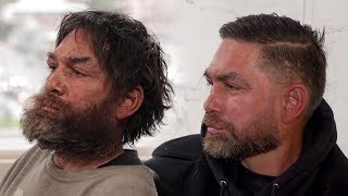 Download HOMELESS MAN MAKEOVER AMAZING TRANSFORMATION *heart warming* Video