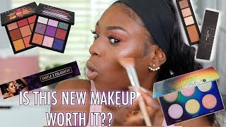 Download TRYING NEW MAKEUP IVE SEEN EVERYWHERE! (INCLUDING THE FAILS) JLO x INGLOT, HUDA BEAUTY & MORE Video