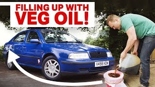 Download The Pros & Cons Of Running An Old Diesel On Used Vegetable Oil Video