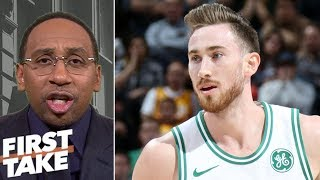 Download Stephen A. Smith: Gordon Hayward is Celtics' biggest problem | First Take Video