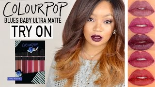 Download COLOUR POP HOLIDAY LIP KIT TRY ON/SWATCHES | LINGYWASHERE Video
