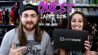 Download Loot Crate April 2016 - Quest Video