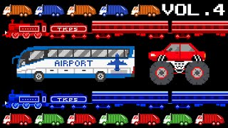 Download Vehicles Collection Volume 4 - Monster, Airport, Colors, Patterns - The Kids' Picture Show Video