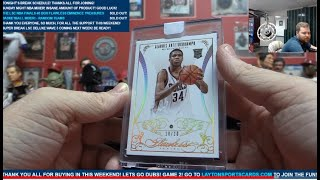 Download The Layton Sports Cards NBA Finals 40 Box Flawless Eminence Treasures Basketball Mixer – RANDOM TEAM Video