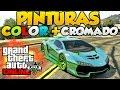 Download GTA V Online Pintura Color + Cromado Pinturas Extrañas y Raras Cromada Con Nacarado GTA 5 Online Video
