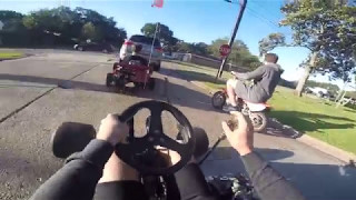 Download Drove the Go Kart and Drift Trike to School Video