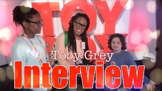 Download The Frog Vlog: Toby Grey Interview from ABC's The Toy Box | American Girl Tenney & Logan Video